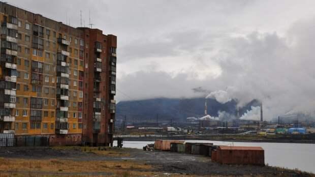 Норильск возглавил рейтинг главных в России городов-загрязнителей