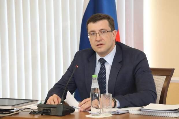 Губернатор Глеб Никитин сделает повторную прививку от коронавируса