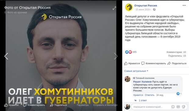 Новая «Федеративная партия» находится под контролем Михаила Ходорковского