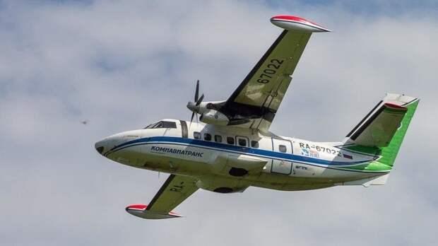 В России приостановили эксплуатацию самолетов типа L-410
