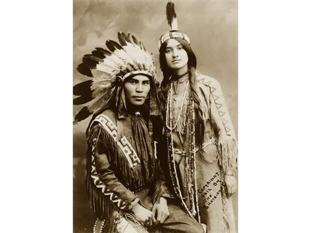 Как индейцы Северной Америки флиртовали с девушками