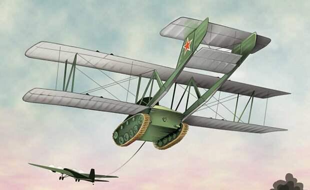 5 самых необычных боевых машин в военной истории