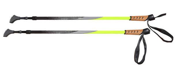 Лыжные палки, равно как и треккинговые, для занятий финской ходьбой не подходят. Нужны только специальные нордики с темляком