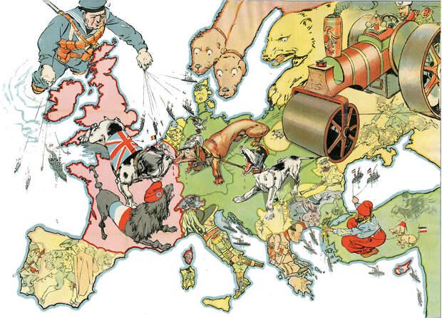 О причинах общеевропейской войны начала XX века