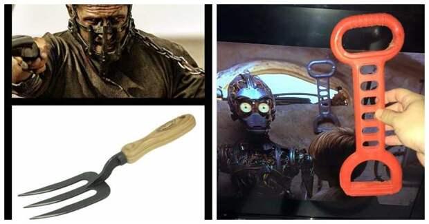 22 примера, когда киношников поймали за использованием обычных предметов в качестве реквизита