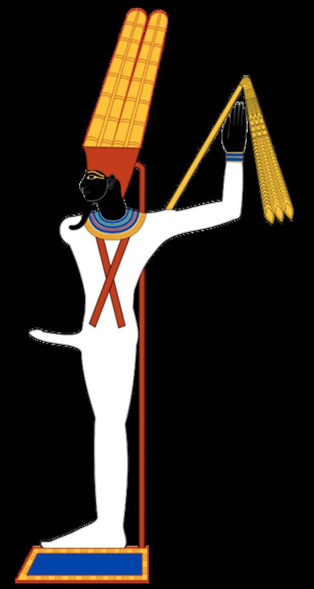 Мин: самый «бесстыдный» бог