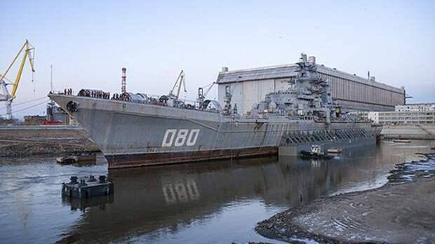 Почему списали и отправили на лом один из мощнейших крейсеров «Адмирал Лазарев»?