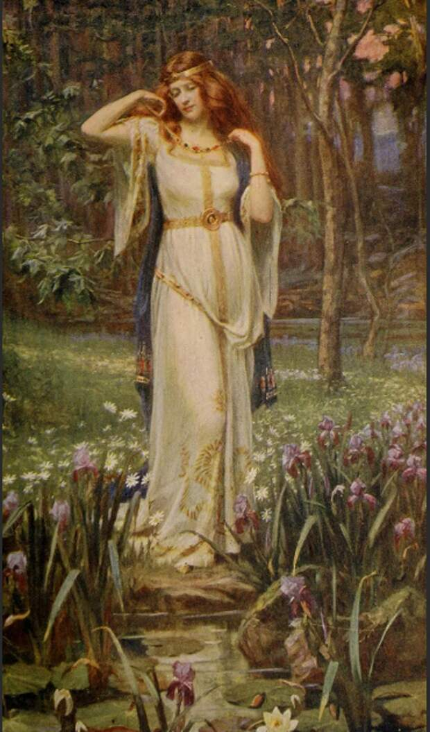 Фрейя богиня женская скандинавская магия сейд
