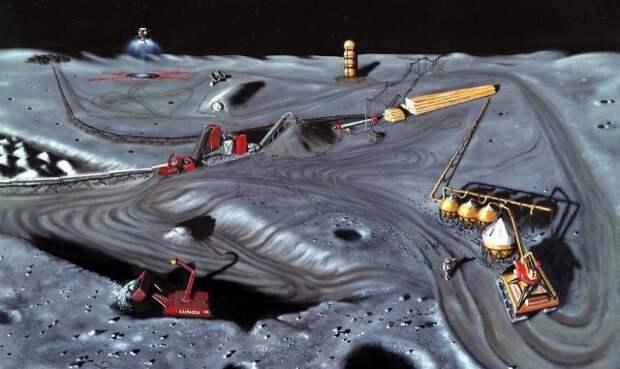 Астронавты должны создать базу на Луне, пока не стало поздно