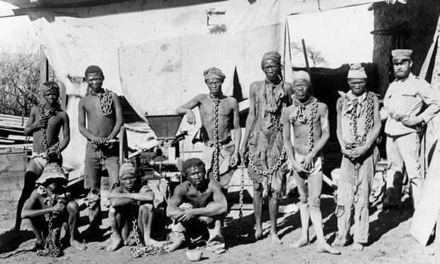 Геноцид племён Гереро в начале ХХ века сравнивают с преступлениями нацистов