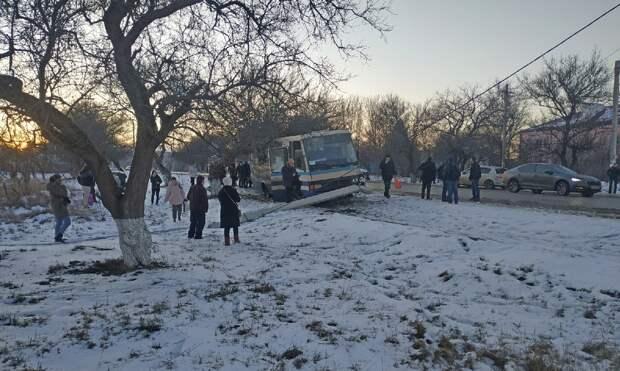 Сотрудники ДПС спровоцировали аварию под Белогорском