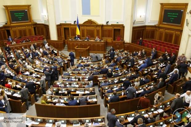 СНБО Украины планирует ввести санкции против ряда депутатов Верховной рады