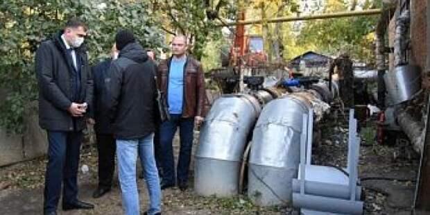 В Промышленном районе Новочеркасска стартовал отопительный сезон