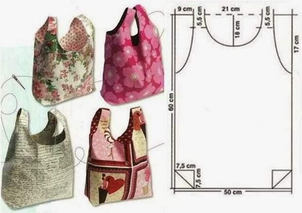 ШЬЕМ, ШЬЁМ, ШЬЁМ... Модели с выкройками + выкройки сумок