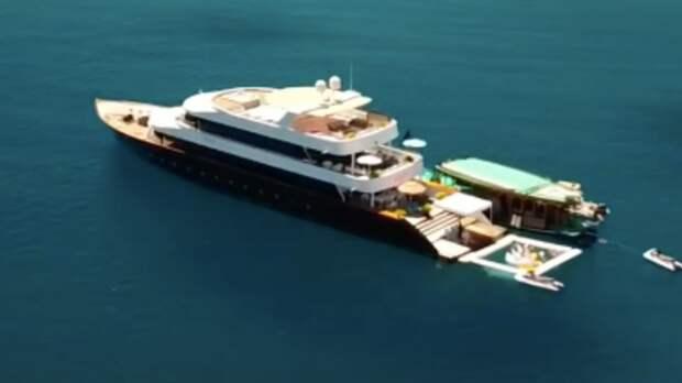Джиган и Самойлова сняли на Мальдивах яхту с 10 спальнями