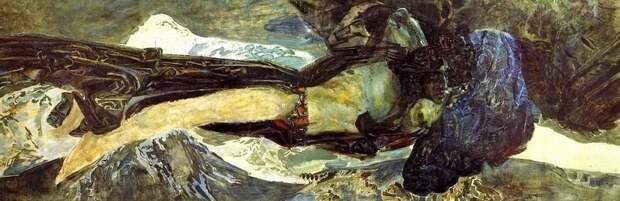 Врубель Демон летящий 1899