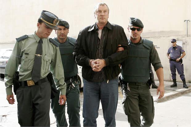 Задержание Петрова в 2008 году в Испании