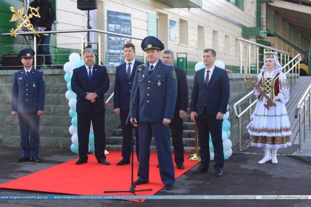 В городе на Березине открыли транспортно-логистический центр ´Бобруйск-Белтаможсервис´.