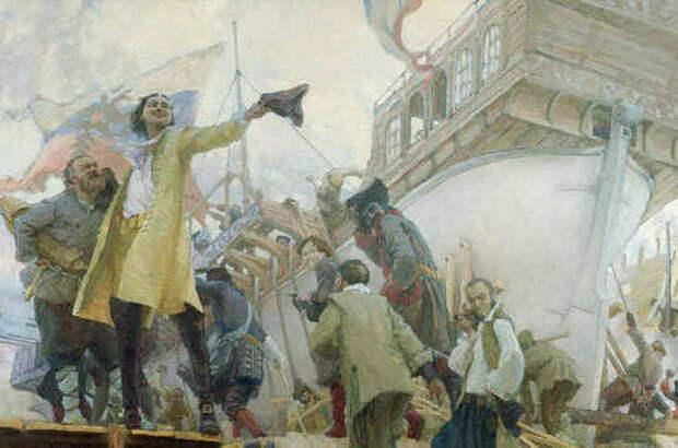 Почему Пётр I запретил иностранцам обучаться морскому делу