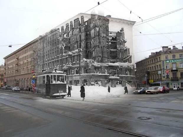 Ленинград 1942-2009 Лиговский проспект-Разъезжая улица блокада, ленинград, победа