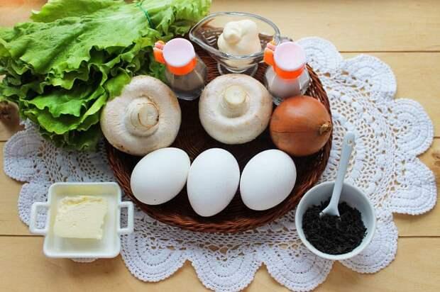 Яйца фаршированные Боровички