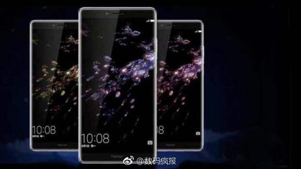 Опубликованы характеристики и изображения флагманского планшетофона Huawei Honor Note 9