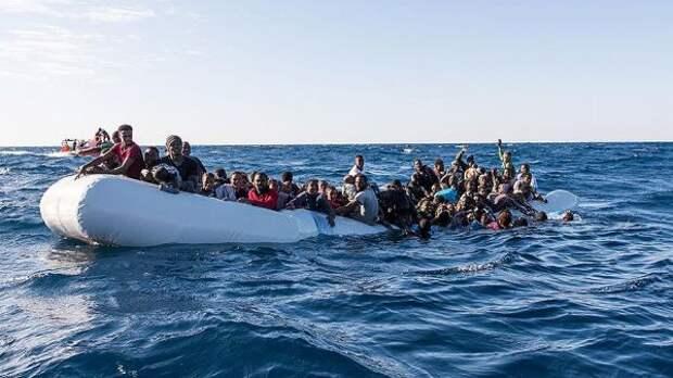 Уберегов Ливии утонули около 130 нелегальных мигрантов
