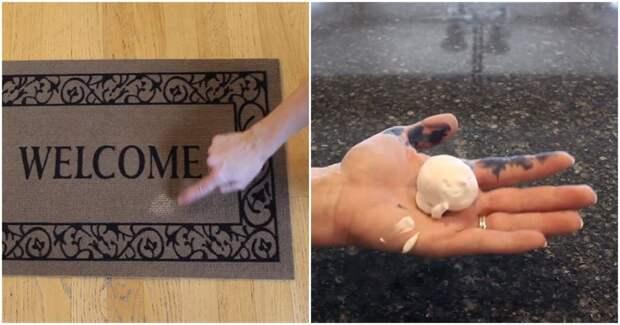 Неожиданно: крем для бритья — отличный помощник хозяйке во время уборки