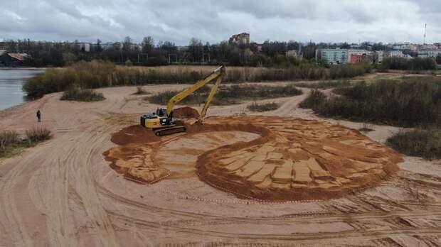 В Ломоносове появится арт-объект «Оранжевая дюна»