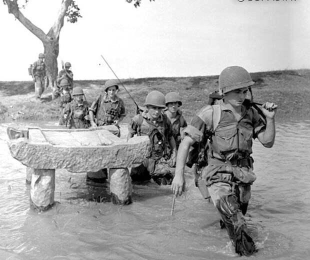 Иностранный легион против Вьетминя и катастрофа при  Дьенбьенфу