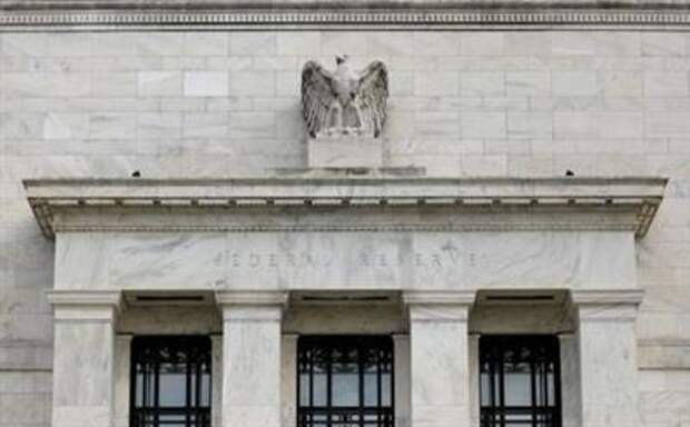 FILE PHOTO: The Federal Reserve building is pictured in Washington, DC, U.S., August 22, 2018. REUTERS/Chris Wattie