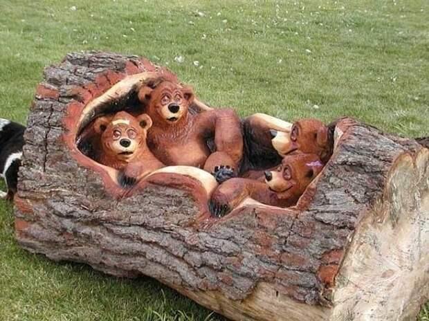 Забавные скульптуры для сада: веселые идеи для вдохновения 3