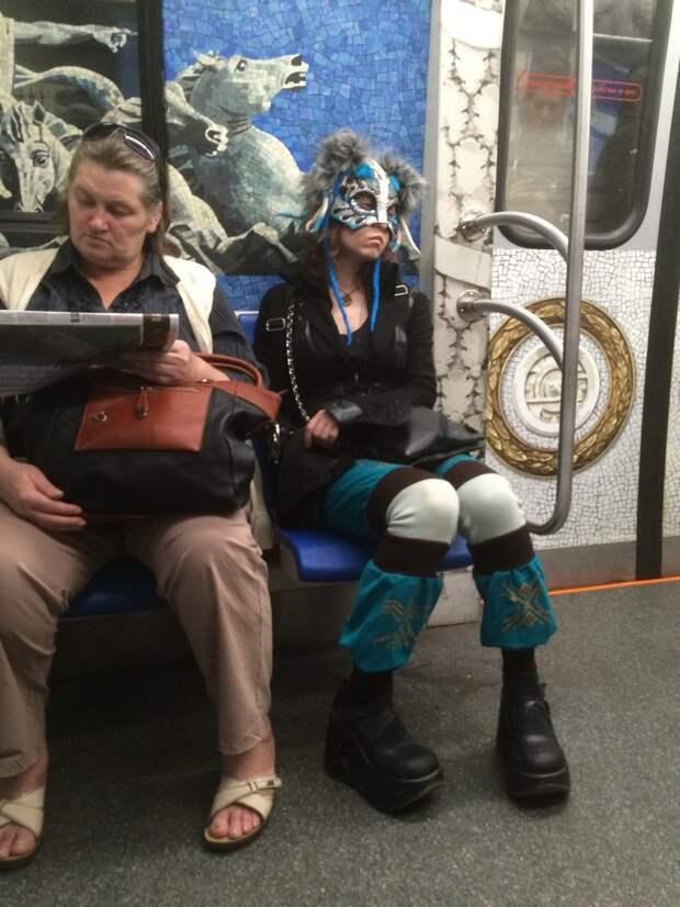 Мода, полегче или отчаянные модники российского метро люди, модв, одежда