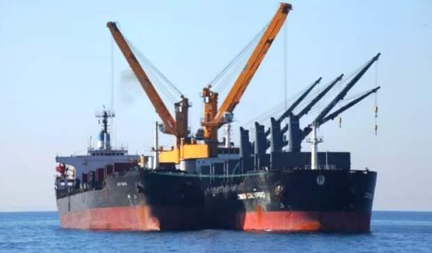 Законопроект озапрете рейдовой перевалки опасных грузов внесут вГосдуму доконца сессии