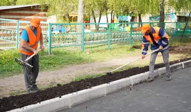 Благоустройство началось в 18 деревнях, селах и поселках Удмуртии