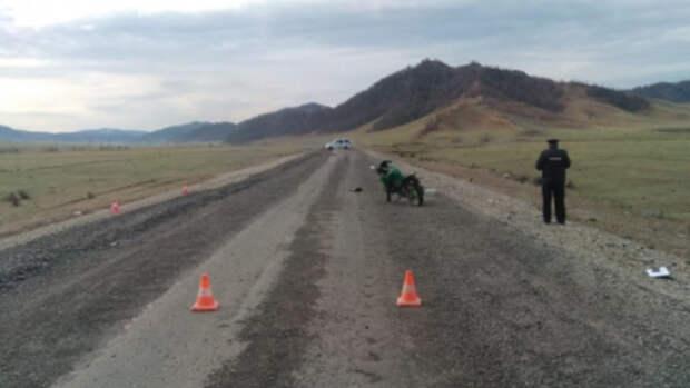 18-летний мотоциклист без прав погиб на Алтае