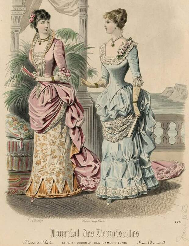 Как должны одеваться героини романа Мопассана «Милый друг»?