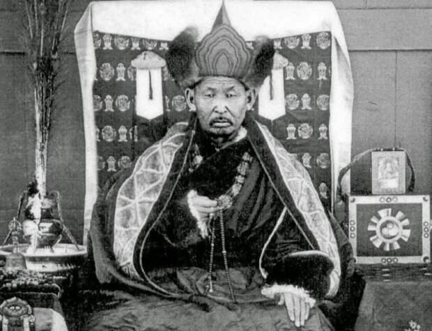 Тайна буддийского монаха Даши-Доржо Итигиловым.