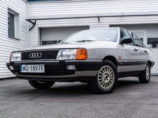 Audi 100 Turbo C3 «Сигара»: живая легенда из 80-х audi, audi 100, авто, автомобили, найдено на ebay, ретро авто, сигара, янгтаймер