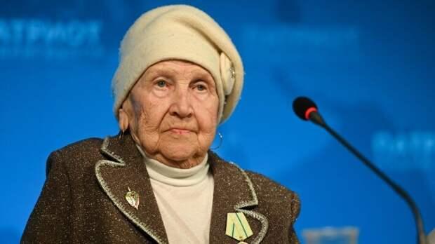 Житель блокадного Ленинграда Мария Александровна Копылова