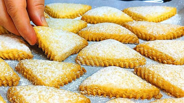 Фото к рецепту: Печенье за 10 минут