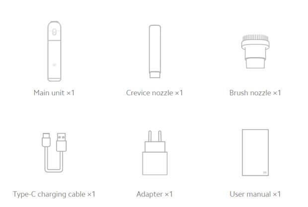 Компактный пылесос от Xiaomi: Mi Vacuum Cleaner mini (как подарок на 23 февраля?)