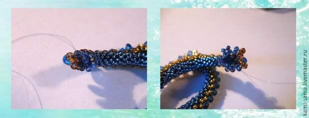 Мастер-класс плетём морского дракончика, фото № 11