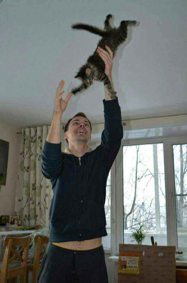 """""""Мне навстречу выбежал совсем маленький котенок, бежит и плачет..."""""""