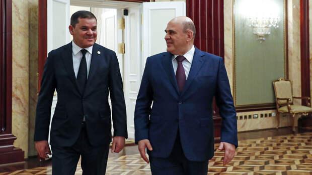 Делегация из Ливии посетила Россию
