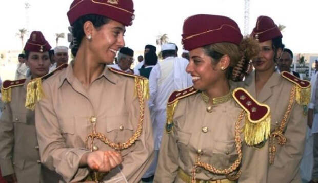 Девушки из охранного отряда Каддафи