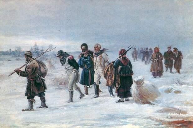 Красный чёрт просил Наполеона отказаться от завоевания России, но тот не послушал