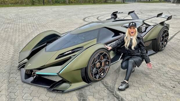 Самая безумная машина в мире! Lamborghini Vision GT