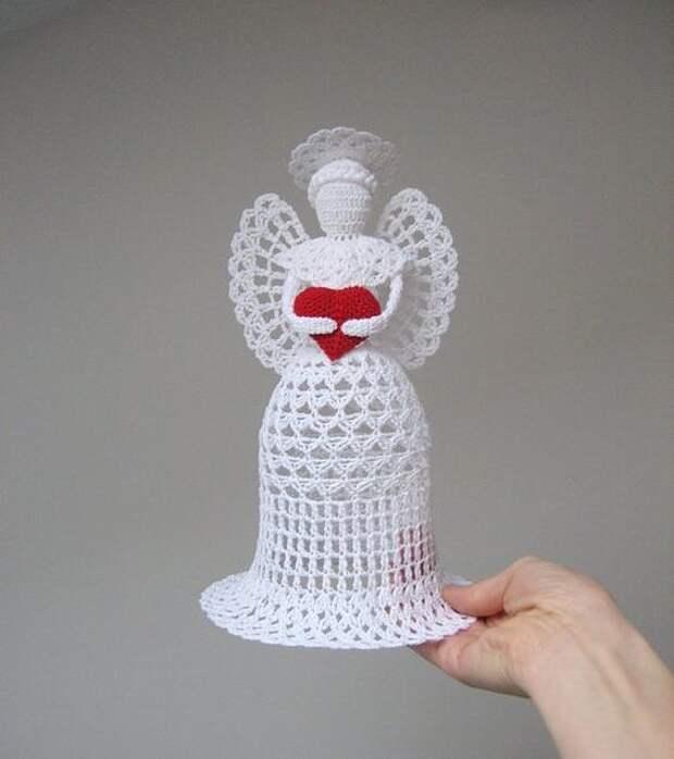 Вязаная красота к Рождеству. Идеи от рукодельниц.
