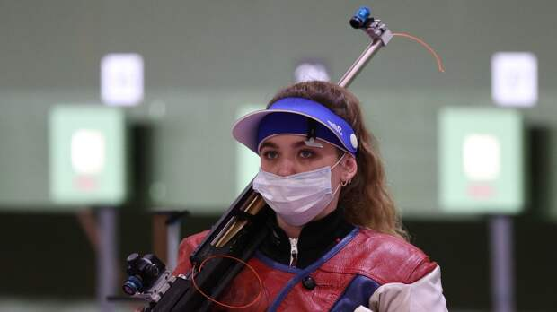 Россиянка Галашина стала серебряным призером в стрельбе на Олимпиаде в Токио